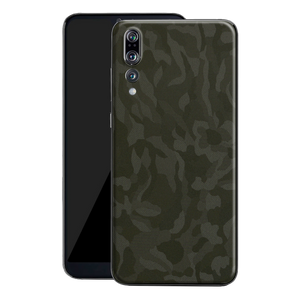 Huawei P20 PRO Luxuria GREEN 3D TEXTURED CAMO Skin Wrap Decal Protector | EasySkin