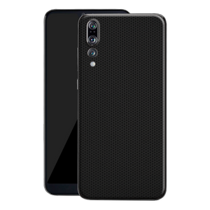 Huawei P20 PRO Black Matrix Textured Skin Wrap Decal 3M by EasySkinz