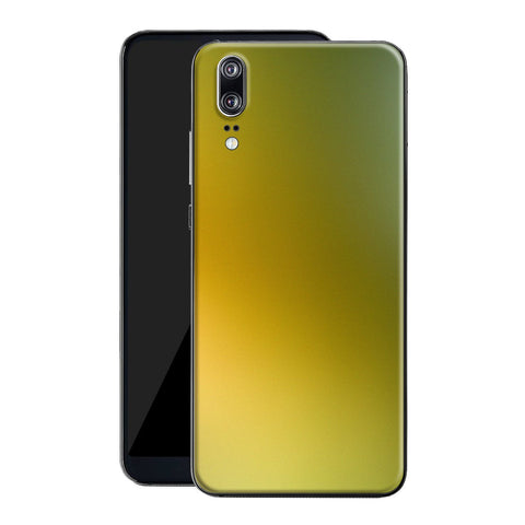 Huawei P20 Chameleon NEPHRITE-GOLD Colour-Changing Skin, Decal, Wrap, Protector, Cover by EasySkinz | EasySkinz.com