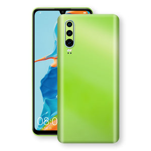 Huawei P30 Apple Green Pearl Gloss Finish Skin Wrap Decal Cover by EasySkinz