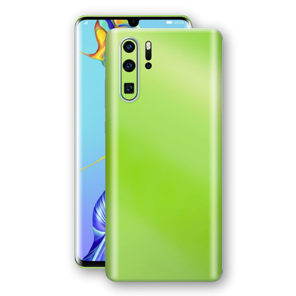 Huawei P30 PRO Apple Green Pearl Gloss Finish Skin Wrap Decal Cover by EasySkinz