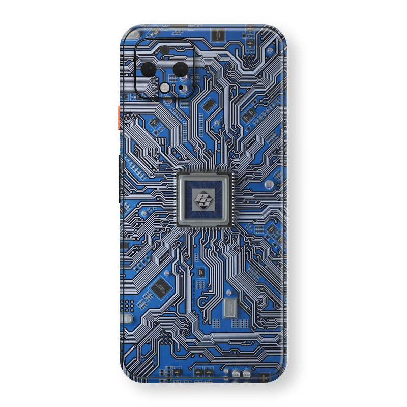 Google Pixel 4 Print Custom SIGNATURE PCB BOARD Skin, Wrap, Decal, Protector, Cover by EasySkinz | EasySkinz.com