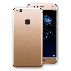 Huawei P10 LITE Luxuria Rose Gold Metallic Skin Wrap Decal Protector | EasySkinz