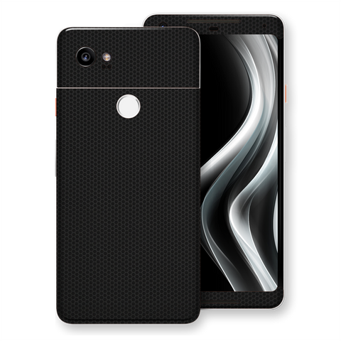 Google Pixel 2 XL Black Matrix Textured Skin Wrap Decal 3M by EasySkinz