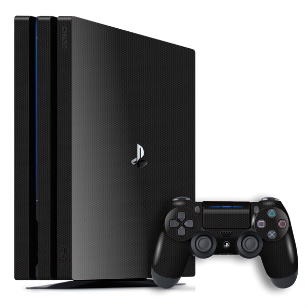 Playstation 4 PRO PS4 PRO Black Matrix Textured Skin Wrap Decal 3M by EasySkinz