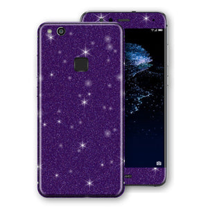 Huawei P10 LITE Diamond Purple Shimmering, Sparkling, Glitter Skin, Decal, Wrap, Protector, Cover by EasySkinz | EasySkinz.com