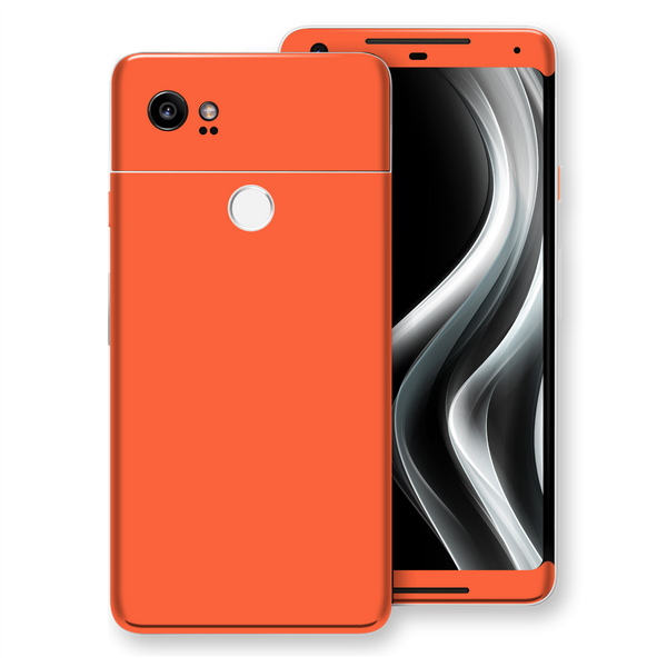 Google Pixel 2 XL CORAL Glossy Gloss Finish Skin, Decal, Wrap, Protector, Cover by EasySkinz | EasySkinz.com