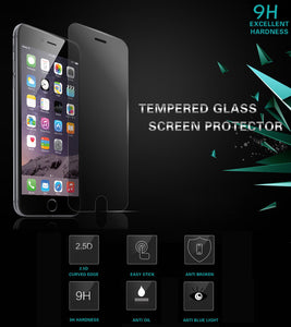 "iPhone 6S PLUS (5.5"") Premium TEMPERED GLASS Screen Protector"