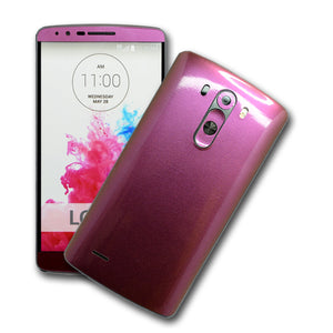 LG G3 Chameleon Purple-Red Gold Skin Sticker Wrap Cover Decal