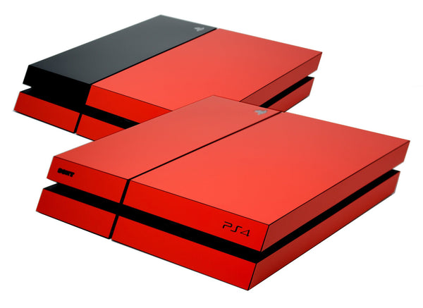 ps4 red matt skin