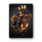 "iPad 10.2"" (7th Gen, 2019) SIGNATURE ROBOTIC HEART Skin Wrap Sticker Decal Cover Protector by EasySkinz"