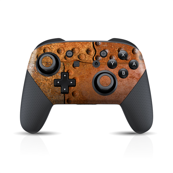 Nintendo Switch Pro Controller Print Printed Custom SIGNATURE RUST Skin Wrap Sticker Decal Cover Protector by EasySkinz