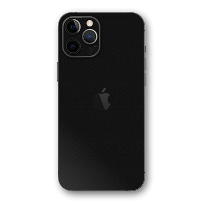 iPhone 12 PRO Luxuria Raven Black 3D Textured Skin Wrap Sticker Decal Cover Protector by EasySkinz
