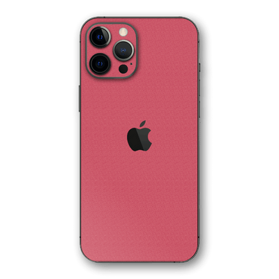 iPhone 12 Pro MAX Luxuria Pink Rouge 3D Textured Skin Wrap Sticker Decal Cover Protector by EasySkinz