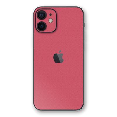 iPhone 12 Luxuria Pink Rouge 3D Textured Skin Wrap Sticker Decal Cover Protector by EasySkinz