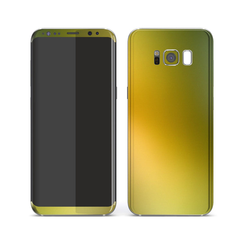 Samsung Galaxy S8+ Chameleon NEPHRITE-GOLD Colour-Changing Skin, Decal, Wrap, Protector, Cover by EasySkinz | EasySkinz.com