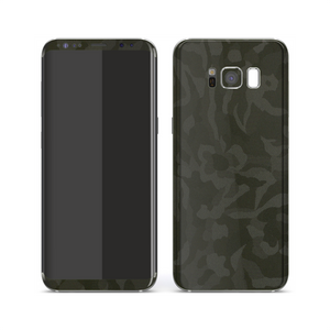 Samsung Galaxy S8+ PLUS Luxuria Green 3D Textured Camo Camouflage Skin Wrap Decal Protector | EasySkinz