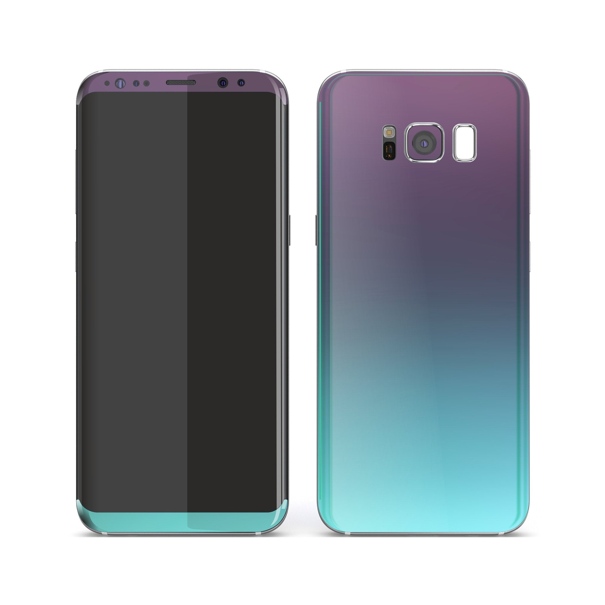 Samsung Galaxy S8+ Chameleon Turquoise Lavender Colour-Changing Skin, Decal, Wrap, Protector, Cover by EasySkinz | EasySkinz.com