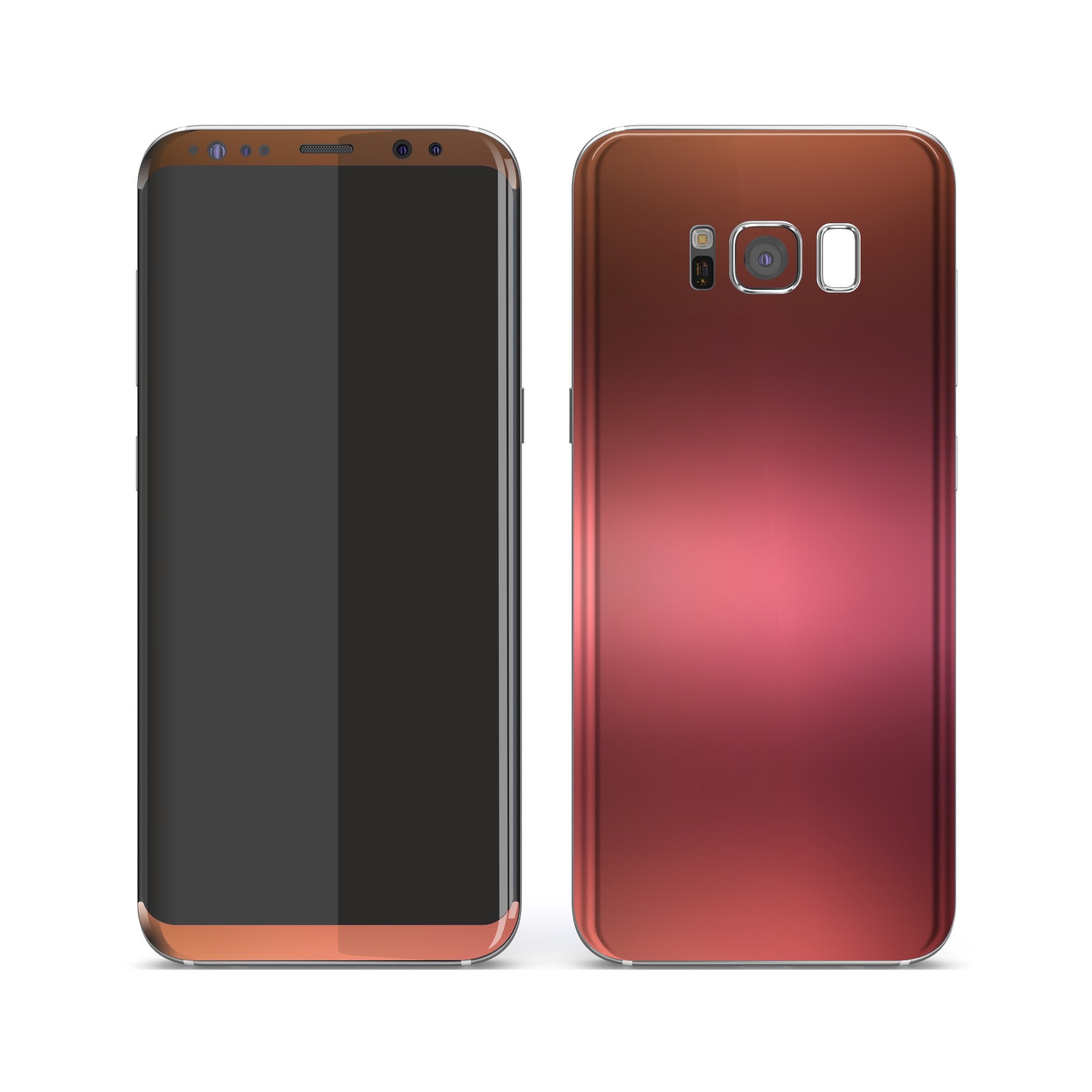 Samsung Galaxy S8+ Chameleon Aubergine Bronze Colour-Changing Skin, Decal, Wrap, Protector, Cover by EasySkinz | EasySkinz.com