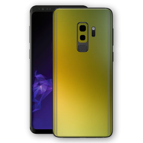 Samsung GALAXY S9+ PLUS NEPHRITE-GOLD Avocado Colour-Changing Skin, Decal, Wrap, Protector, Cover by EasySkinz | EasySkinz.com