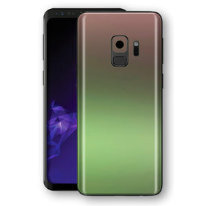 Samsung GALAXY S9 Chameleon Avocado Colour-Changing Skin, Decal, Wrap, Protector, Cover by EasySkinz | EasySkinz.com