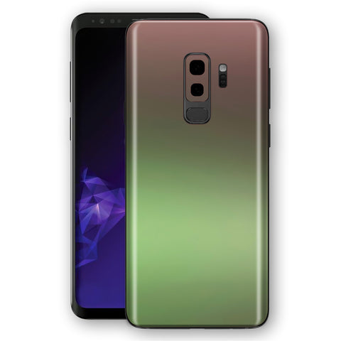 Samsung GALAXY S9+ PLUS Chameleon Avocado Colour-Changing Skin, Decal, Wrap, Protector, Cover by EasySkinz | EasySkinz.com