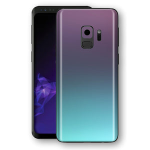 Samsung GALAXY S9 Chameleon Turquoise Lavender Colour-Changing Skin, Decal, Wrap, Protector, Cover by EasySkinz | EasySkinz.com