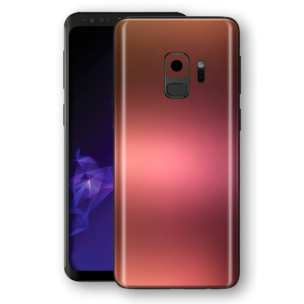 Samsung GALAXY S9 Chameleon Aubergine Bronze Colour-Changing Skin, Decal, Wrap, Protector, Cover by EasySkinz | EasySkinz.com