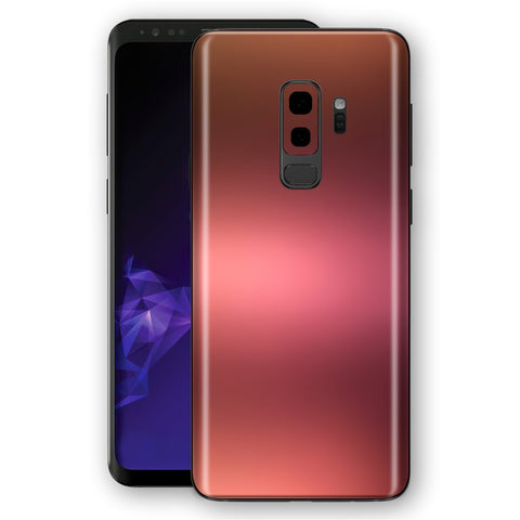 Samsung GALAXY S9+ PLUS Chameleon Aubergine Bronze Colour-Changing Skin, Decal, Wrap, Protector, Cover by EasySkinz | EasySkinz.com