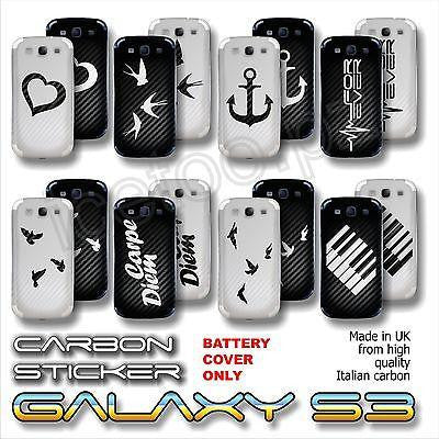 Samsung Galaxy S3 Old School Carbon Skin