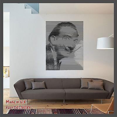 SALVADOR DALI Art Photo CUT Technology Vinyl Wall Sticker Decal - Home Decor