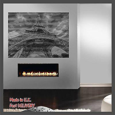 PARIS Eiffel Tower - Photo CUT Technology - Vinyl Wall Art Sticker Decal Decor