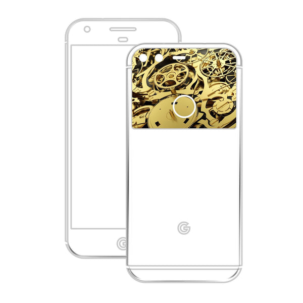 Google Pixel GOLD MATT Metallic Skin