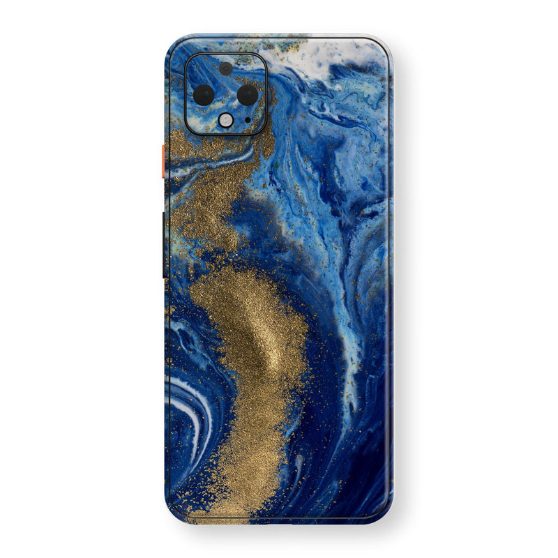 Google Pixel 4 XL Print Custom SIGNATURE Underwater Golden Treasure Skin, Wrap, Decal, Protector, Cover by EasySkinz | EasySkinz.com