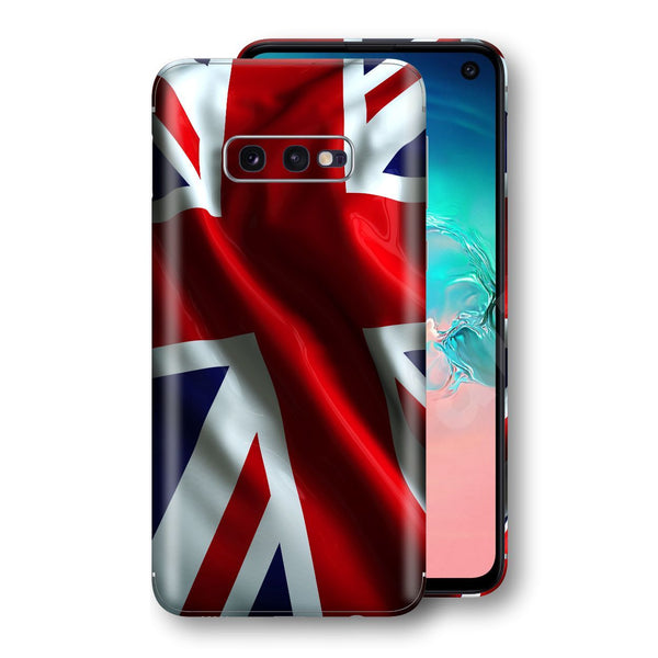 Samsung Galaxy S10e Print Custom Signature UNION JACK BRITAIN BRITISH Skin Wrap Decal by EasySkinz - Design 2