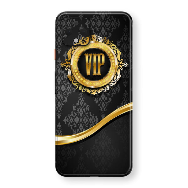 Google Pixel 4 XL Print Custom SIGNATURE VIP Badge Skin, Wrap, Decal, Protector, Cover by EasySkinz | EasySkinz.com
