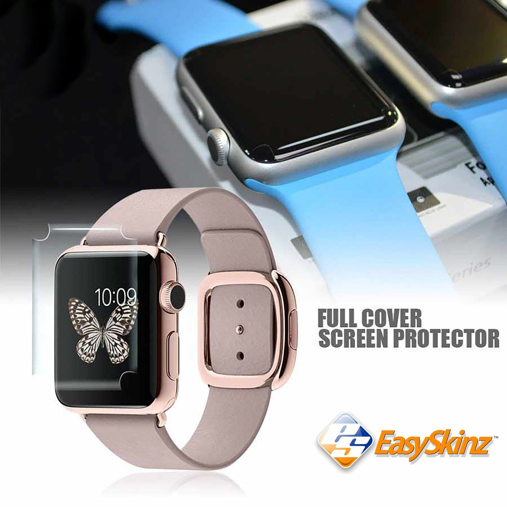Apple Watch 42mm Screen Protector Cover Skin Wrap Decal Case by EasySkinz