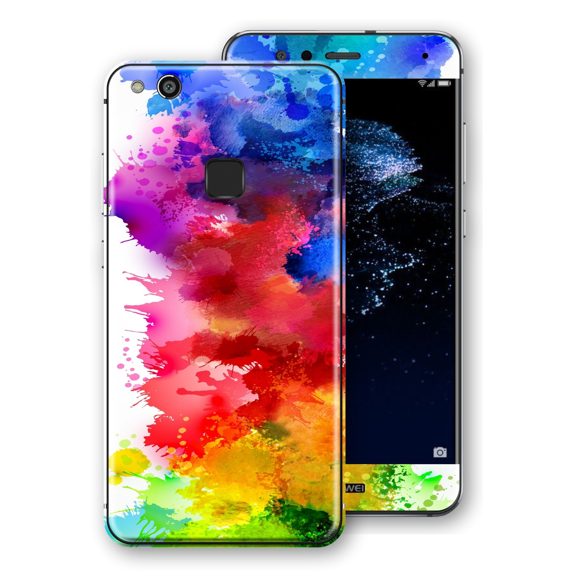 Huawei P10 LITE Signature Watercolour Skin Wrap Decal Protector | EasySkinz