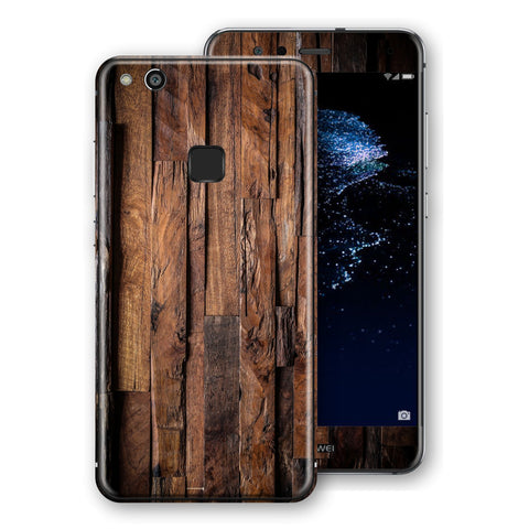 Huawei P10 LITE Signature Wood Skin Wrap Decal Protector | EasySkinz