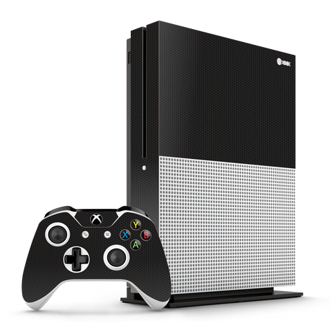 Xbox One S Black Matrix Textured Skin Wrap Decal 3M by EasySkinz