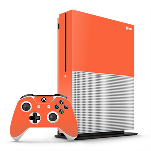 XBOX ONE S CORAL Gloss Glossy Skin Wrap Decal by EasySkinz