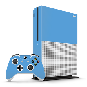 XBOX ONE S SKY BLUE Gloss Glossy Skin Wrap Decal by EasySkinz