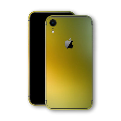 iPhone XR Chameleon NEPHRITE-GOLD Colour-changing Skin, Wrap, Decal, Protector, Cover by EasySkinz | EasySkinz.com