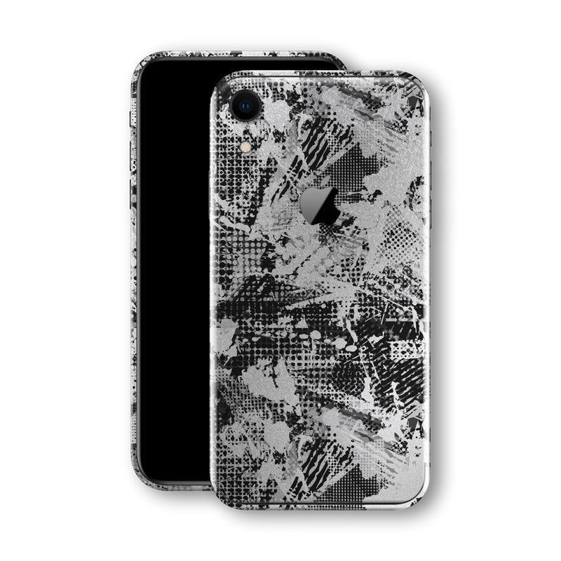 iPhone XR Print Custom Signature Abstract Grunge Skin Wrap Decal by EasySkinz