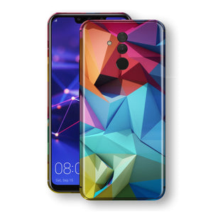Huawei MATE 20 LITE Signature Abstract Geometry Skin Wrap Decal Protector | EasySkinz