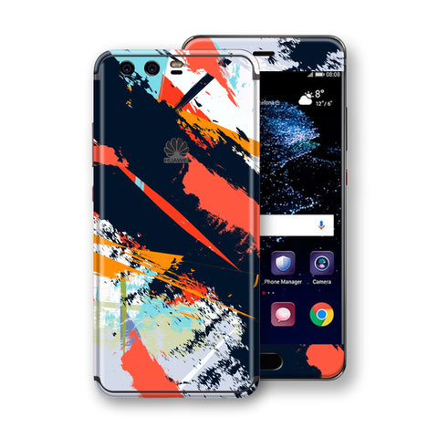 Huawei P10 Signature Abstract Paitning Skin Wrap Decal Protector | EasySki