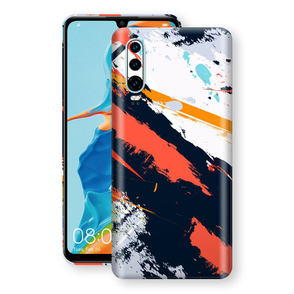 Huawei P30 Print Custom Signature Abstract Paitning 4 Skin Wrap Decal by EasySkinz - Design 4