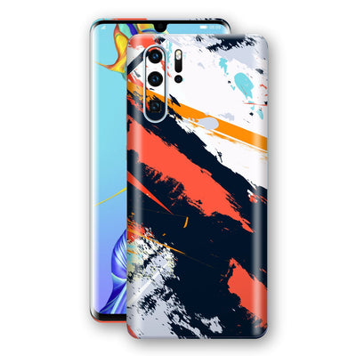 Huawei P30 PRO Print Custom Signature Abstract Paitning 4 Skin Wrap Decal by EasySkinz - Design 4