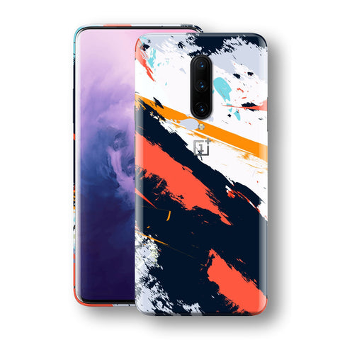 OnePlus 7 PRO Print Custom Signature Abstract Paitning 4 Skin Wrap Decal by EasySkinz - Design 4