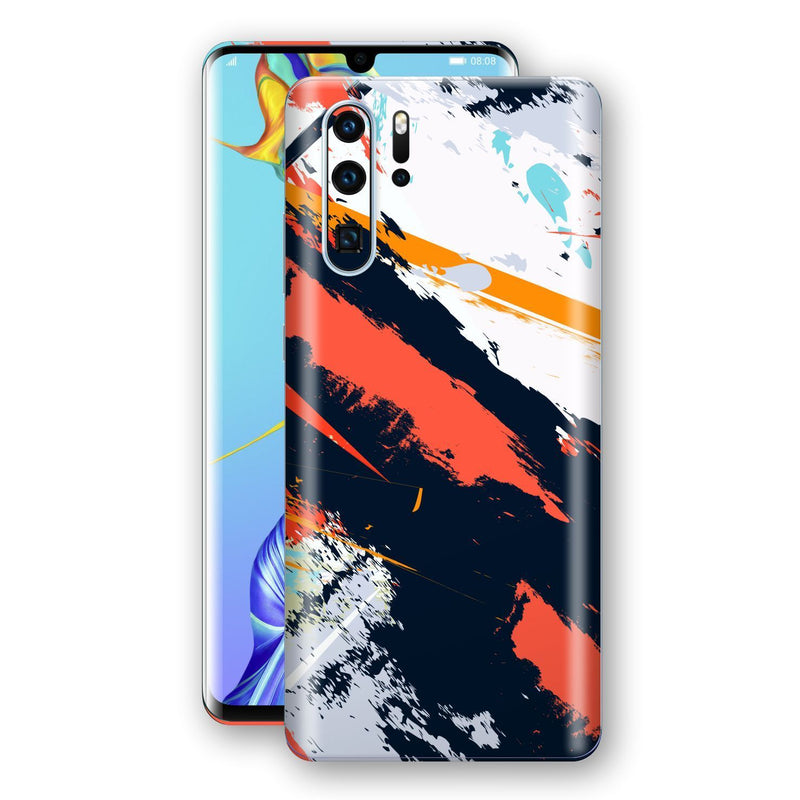 Huawei P30 LITE Print Custom Signature Abstract Paitning 4 Skin Wrap Decal by EasySkinz - Design 4